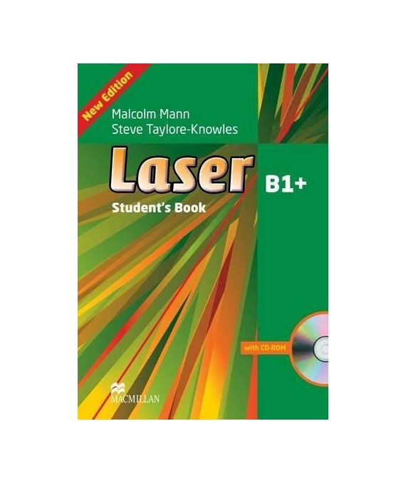 Laser Student's Book AndCD-ROM Pack Level B1  (Laser 3rd Edition B1)